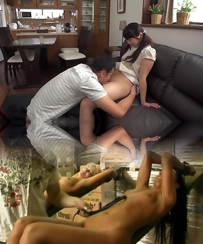Day-to-day Of Love Twisted And Dad Daughter-in-law Mother Do Not Know Of ... Puberty.Manami 149cm