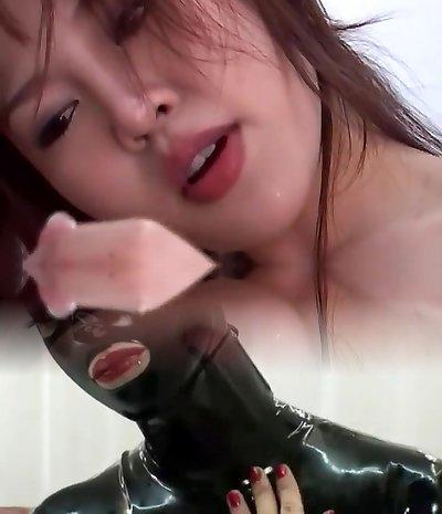 Hottest pornstar in hottest asian, blowjob xxx flick