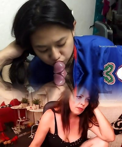 indonesian Female Gets First Time Stream In Mouth