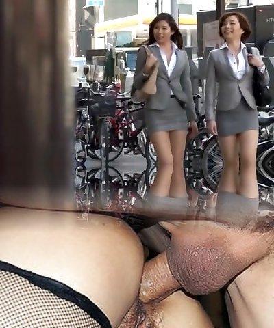 Horny Japanese model Azusa Maki, Kaede Imamura, Makina Kataoka in Finest Compilation, Voyeur JAV video