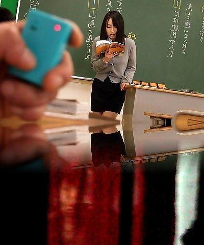 Nozomi Hazuki in Super Hot Nozomi Hazuki is a slutty splattering teacher - AviDolz