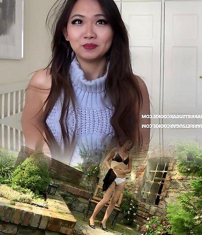 Sweet asian teenager's homemade virgin killer sweater porn