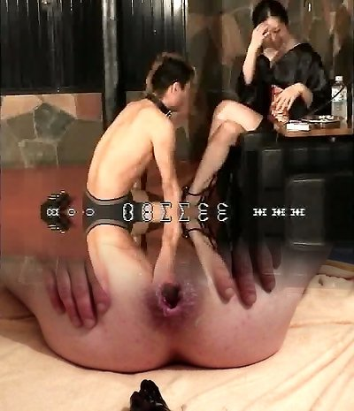 Chinese femdom K of kimono slapping the face of slave