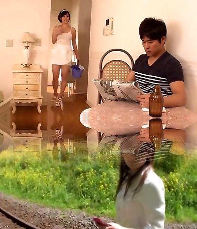 Japanese maid penetrate uncensored