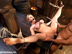 This Special Halloween Feature update stars bondage superstar Darling in a cruel sex-slave...
