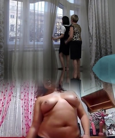 Mischievous mature lesbian has sex with a steamy hairy babe