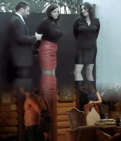 Two girls arrested and offered a deal (Gotcuffs)