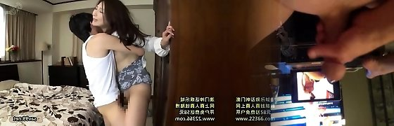 Asian Chinese Threesome Creampie and Cumshot