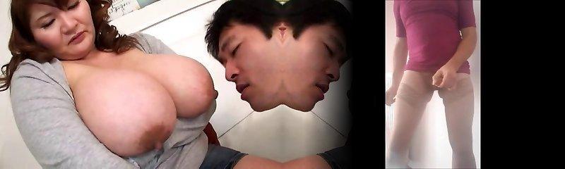 Throating Asian Boobs