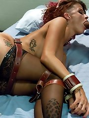 Joslyn James is well known for her love affair with Tiger Woods. She does her first hardcore...