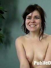 Juliette is yet another BRAND new girl weve gotten to try porn for the FIRST TIME EVER in Public...