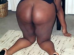 Thick Chocolate is a freaky lesbian lady with huge black tits who loves to have her coochie licked while she inhales on a large cock