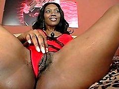 sexy black mom sucking and fucking black cock