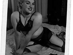 Vintage babes adore exposing their nude tits