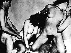 Exclusive vintage porn with retro cunts heavily probed