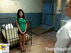 Sexy Aleska Nicole gets her perfect little body violated by the night nurse Lea Lexis and Dr....