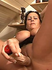 Fuck that MILF silly and hard on her bed