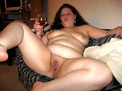 BBW cutie with huge boobs gall