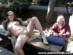 Shameless public nudity