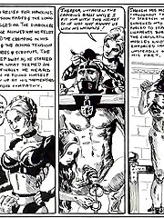 Medieval femdom in the comics Spanish Leather