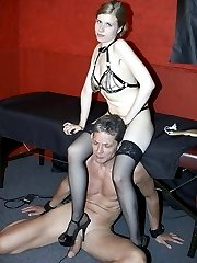 Mistress Victoria and slave bull HIGH RES PICS