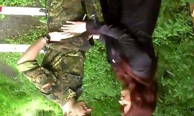 Extreme slut brutally gang bang fisted