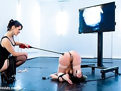 All natural Missy Minks has been not just afraid of electrosex but terrified of it ever since...