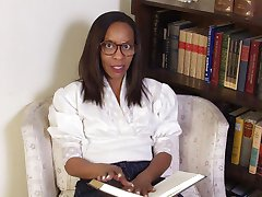 Sapphire is a school teacher that loves to wear a tight white blouse to work that shows off her...