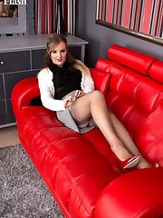 Yasmin knows just the thing to relax as she slips off her outer clothing, unclips that bra and...