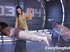 Casey Calvert is the lead Alien who has captured Earths Biggest Anal Whores, Lisa Tiffian and...