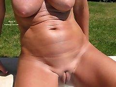 Nude mature women at nudist beach