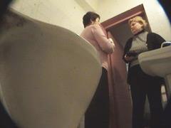 Voyeur spies after pissing women in supermarket toilet