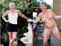 british mature public flashing videos