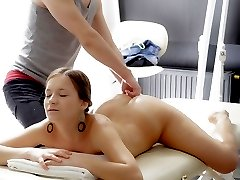 After getting a massage from her friend Vera is starting to feel pretty horny. So she reaches...