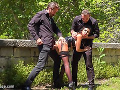 Part 1 - Spanish Slut Fucked OutdoorsFrida Sante is a pretty Spanish slut who loves to take it...