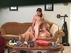 Hubby sets up a hidden cam and fucks his wife