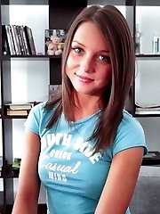 Today we introduce blue-eyed babe Foxi that loves big cock jumping, though she seemed to be a...