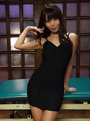 The stunningly beautiful Japanese girl Marica Hase gives us an amazing scene with rough sex and...
