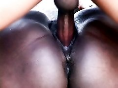 Big boobed ebony bbw Cissy gives her man a nasty blowjob and got her fat pussy intensely screwed