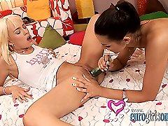 Hot teeny lesbian cuties