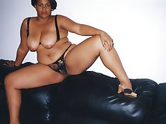 Sugar is a thick black mature sister with large black boobs and a round plump ebony ass. She...