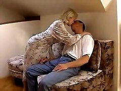 Homemade video with blonde wife Stacey fucked by her husband