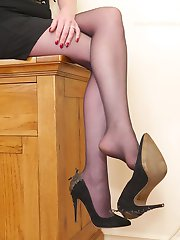 Lets be honest, when you see a high heeled lady things start to happen dont they? Especially if...