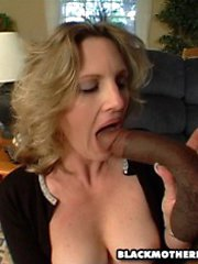 horny mom filled with black cock