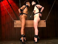 Nikki and Katharine are two of our toughest models and their live show was a solid example of...