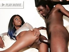 Jenna Brooks flaunts her ebony assets and gets her dose of intense fucking in this sex movie