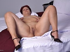 This horny housewife is ready to play