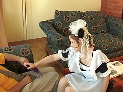 Hot coed has time for extracurricular fucking lesson with her older teacher