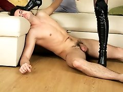 Cruel Mistress Tanya likes to torment and humiliate her slaves