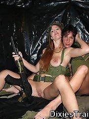 Military milfs who love MUCH more than just their GUNS!